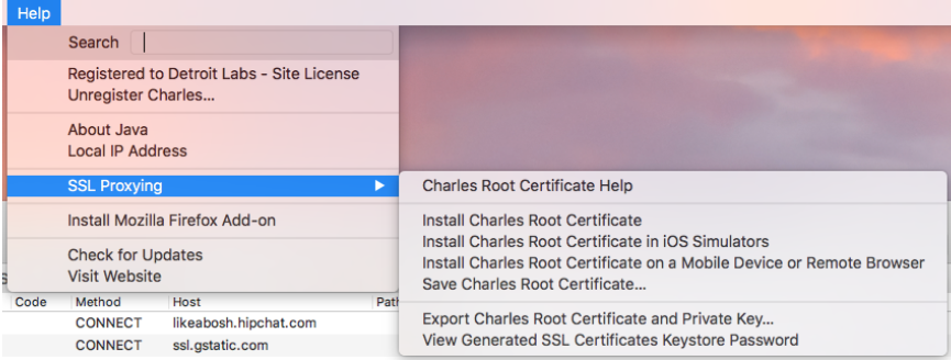 How to Set Up Charles Proxy for an iOS Simulator - Detroit Labs